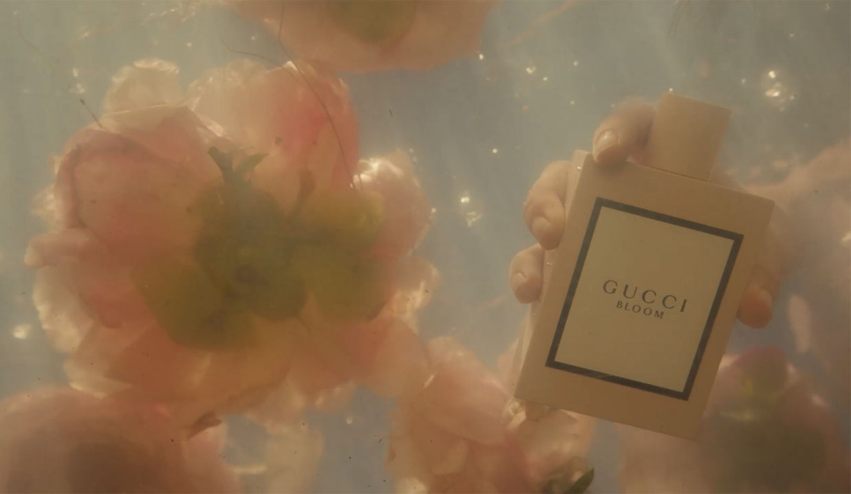 Gucci BLOOM, film still © Gucci.