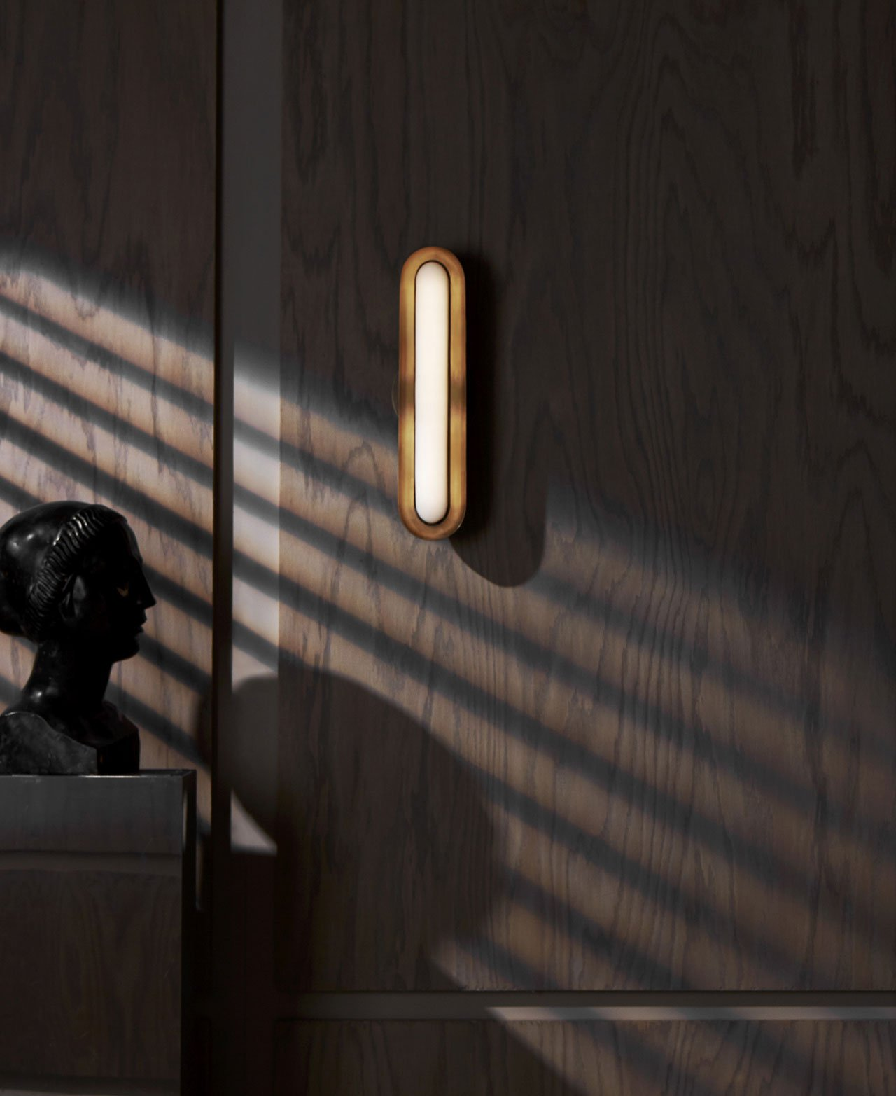 CIRCUIT wall lamp by APPARATUS studio.