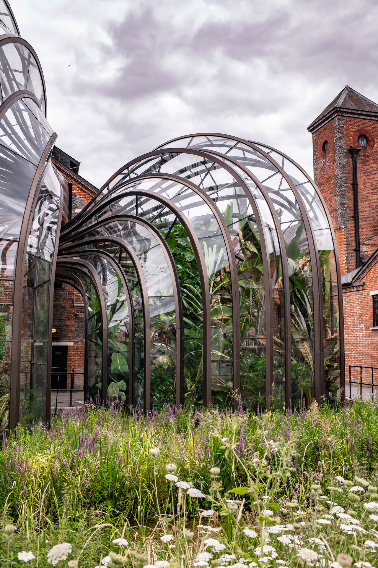 Bombay Sapphire's distillery at Laverstoke Mill. Photo by Elias Joidos © Yatzerland Ltd.