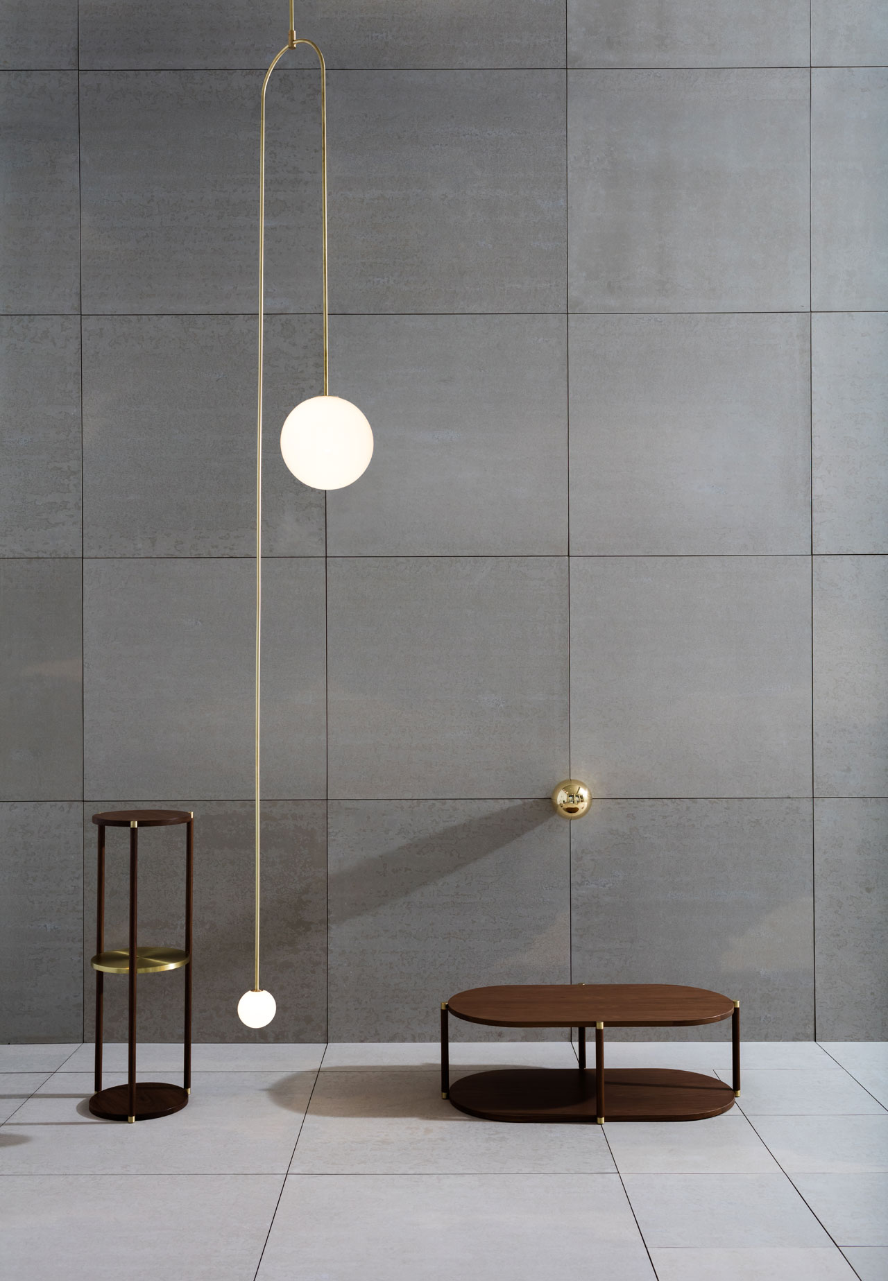 The Double Dream of Springinstallation by Michael Anastassiades for Herman Millerwhich featuredhis inaugural collection of occasional furnishingscreated exclusively for Herman Miller. Photo by Ben Anders