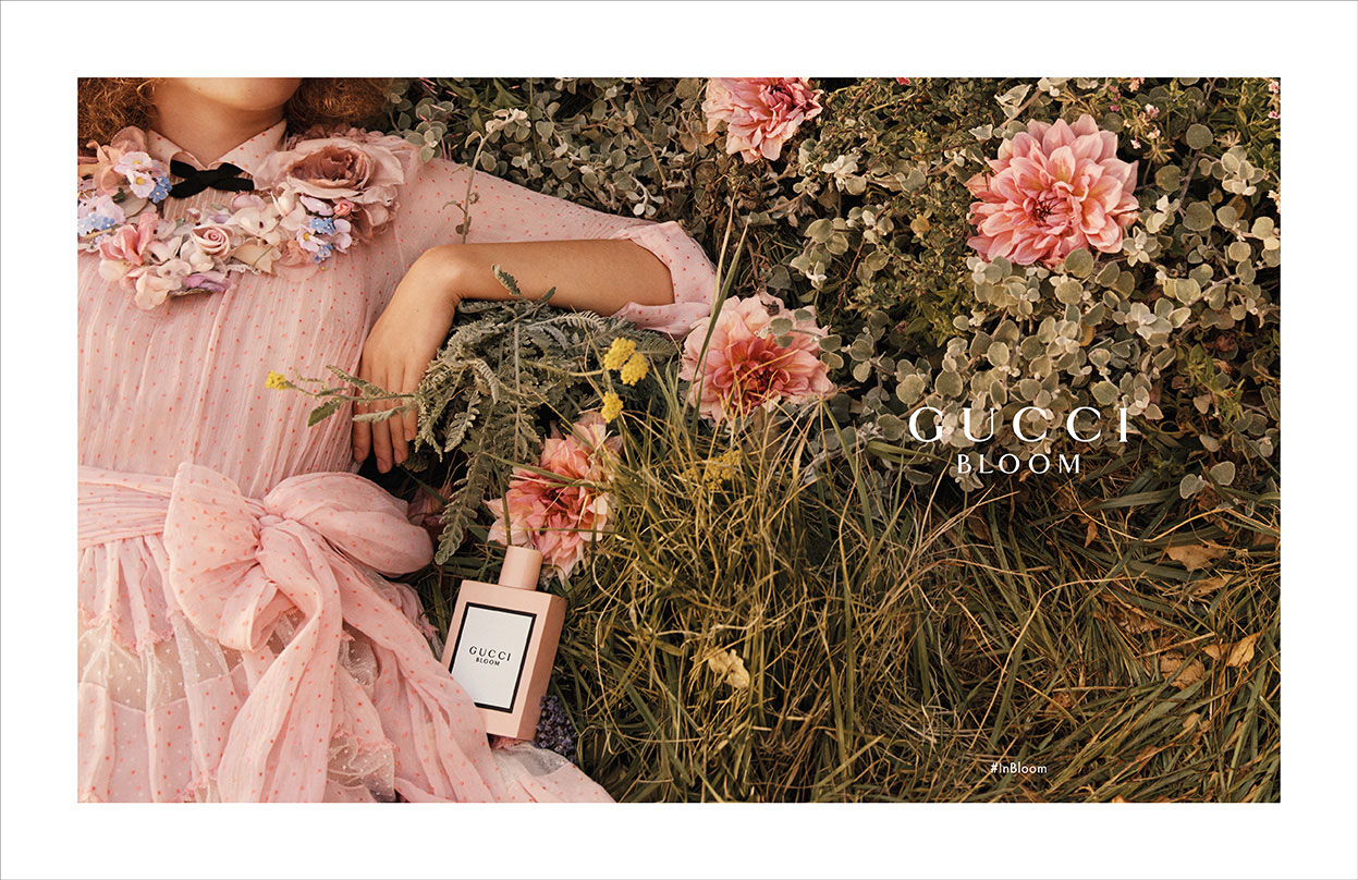 Gucci BLOOM campaign © Gucci.
