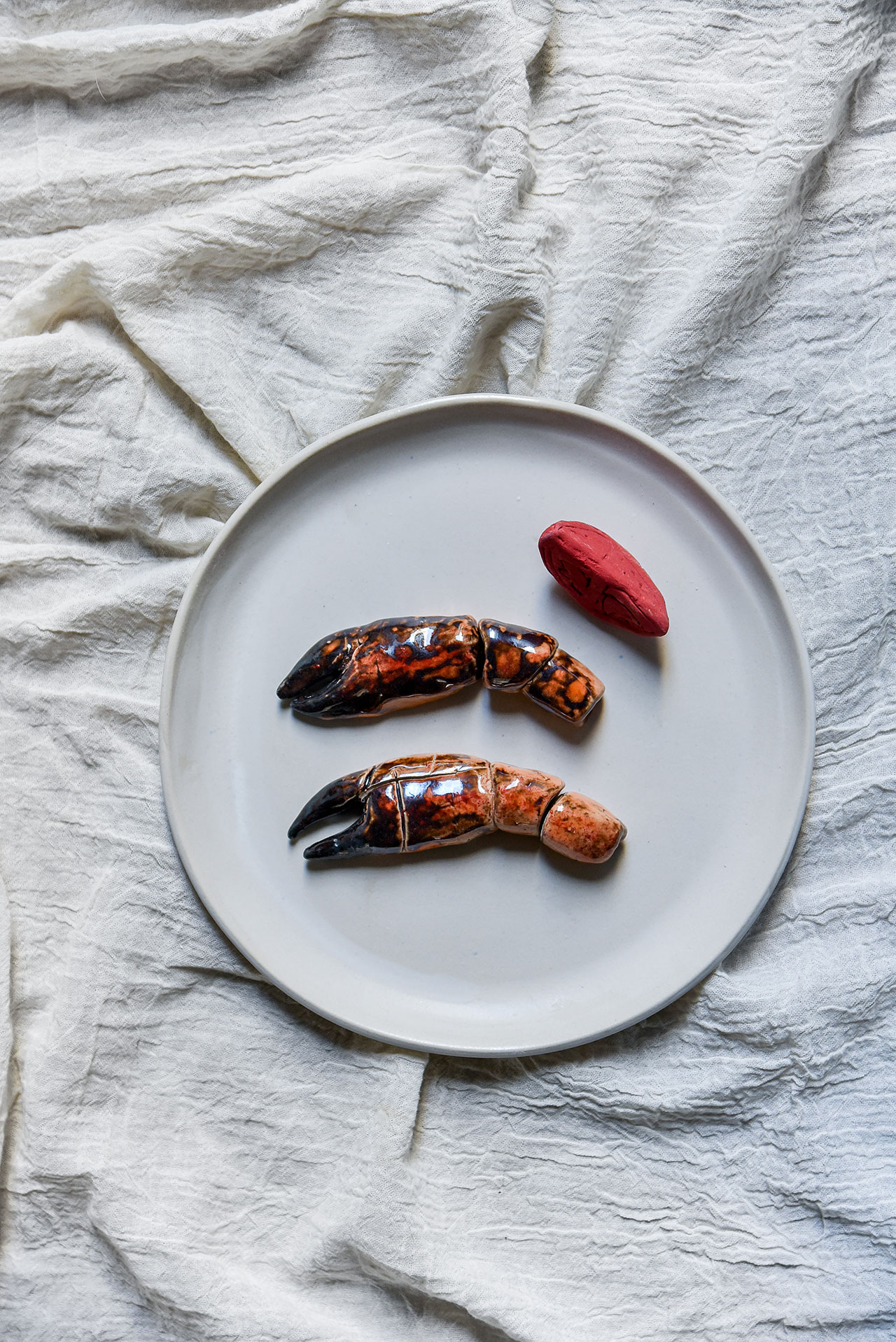 Daphne Leon ceramics for Oursin.Photo byNastazia Arapoglou.