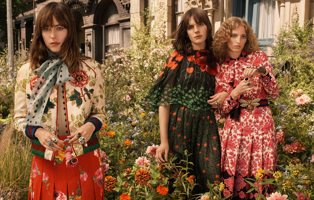 Gucci Bloom campaign, Glen Luchford © Gucci.