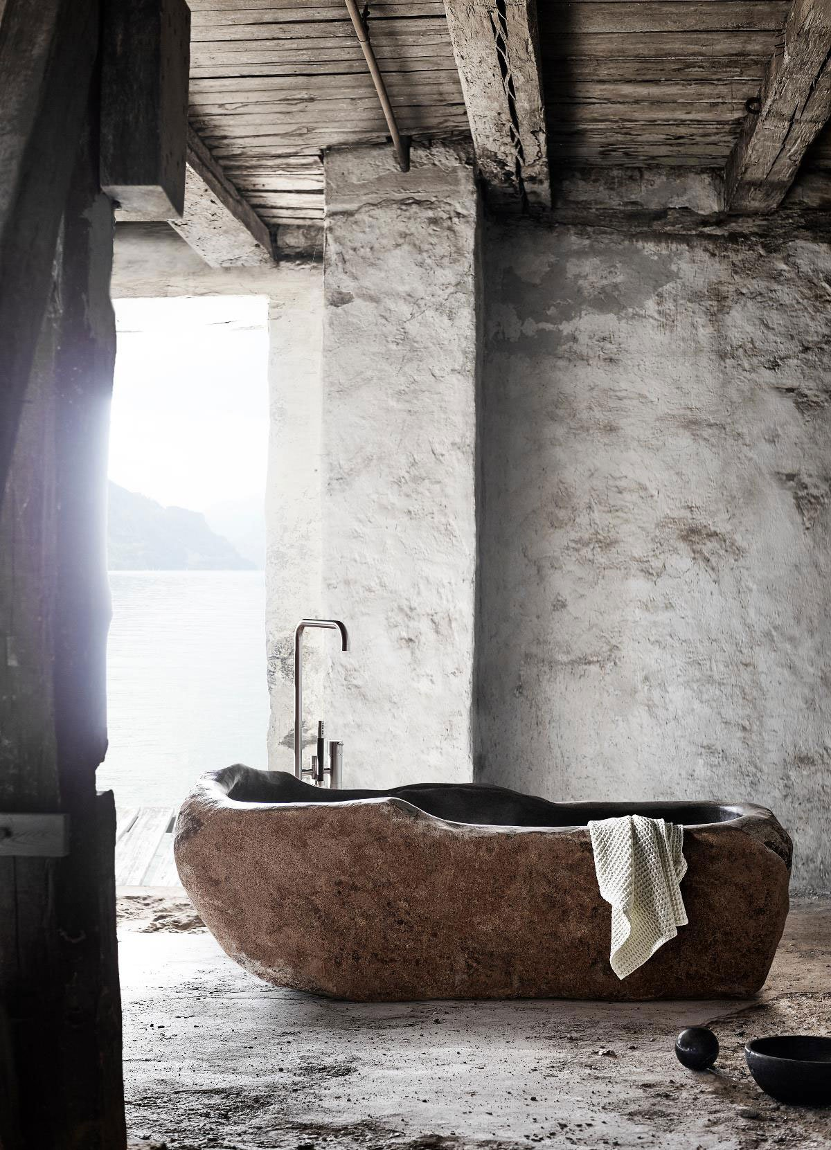 the riverstone bathtub byMuubs.