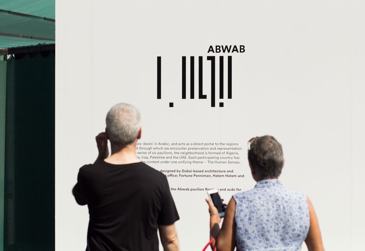 A major initiative of Dubai Design Week, Abwab is a series of six pavilions built to celebrate and showcase the work of the most exciting designers, studios and curators from six different countries in the MENASA region.