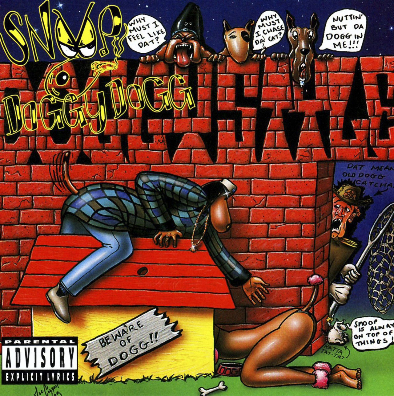 Doggystyle is the debut studio album by American West Coast hip hop artist Snoop Doggy Dogg, released by Death Row Records and Interscope Records on November 23, 1993.