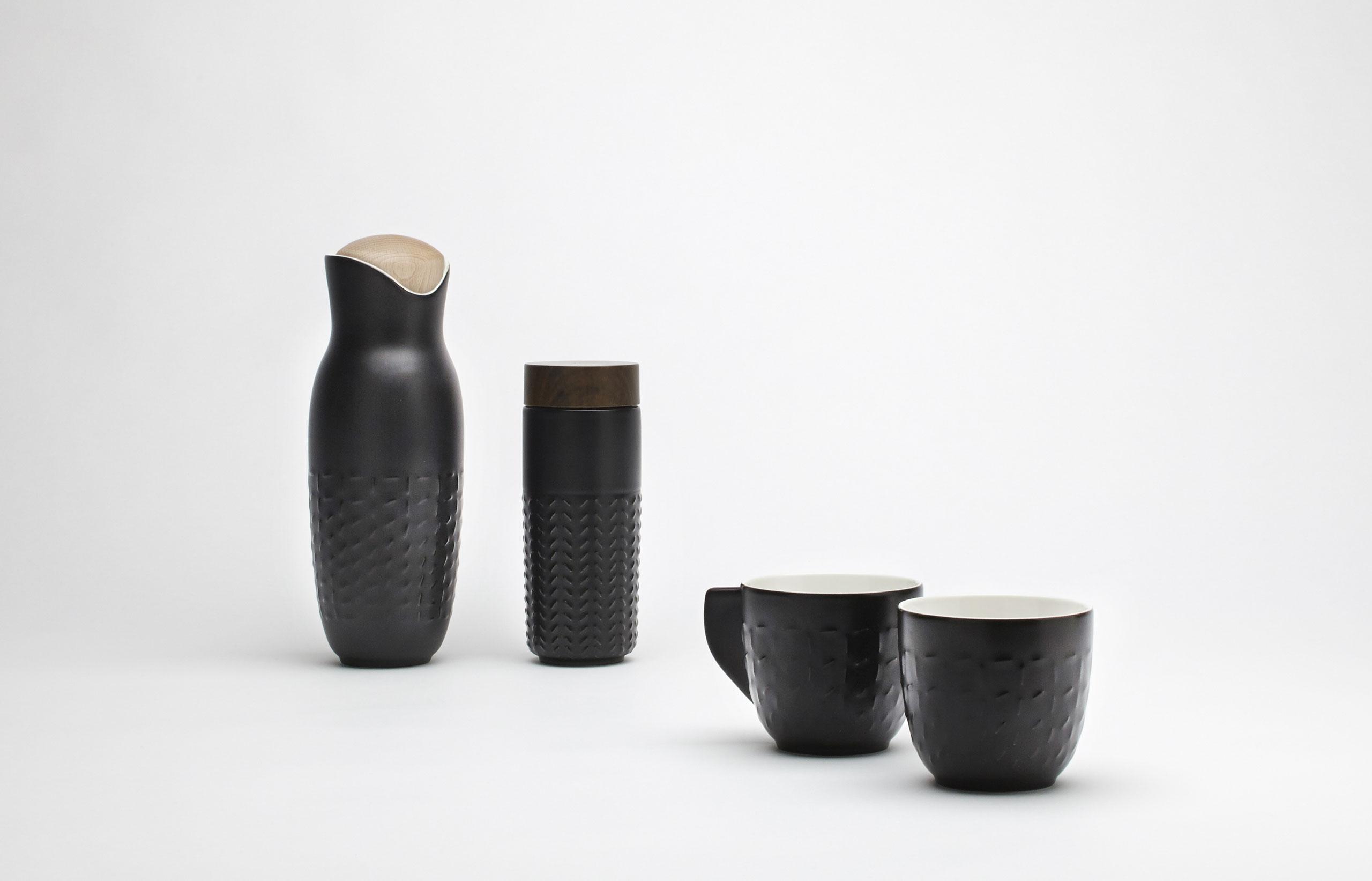Urban Collection of ceramic tablewareby Hangar Design Group for ACERA.