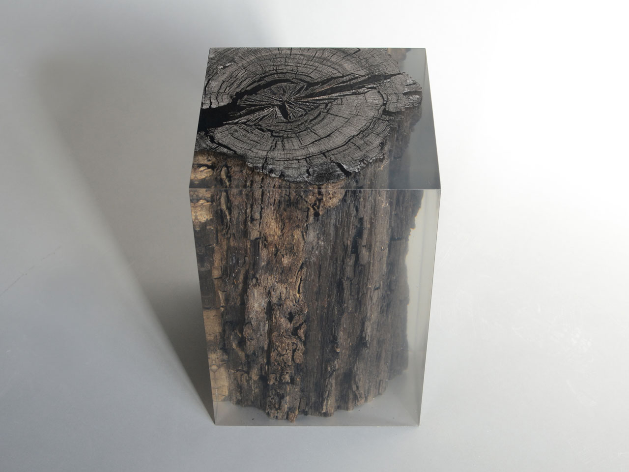A stool/side table from the PEATLAND COLLECTION by Alcarol.