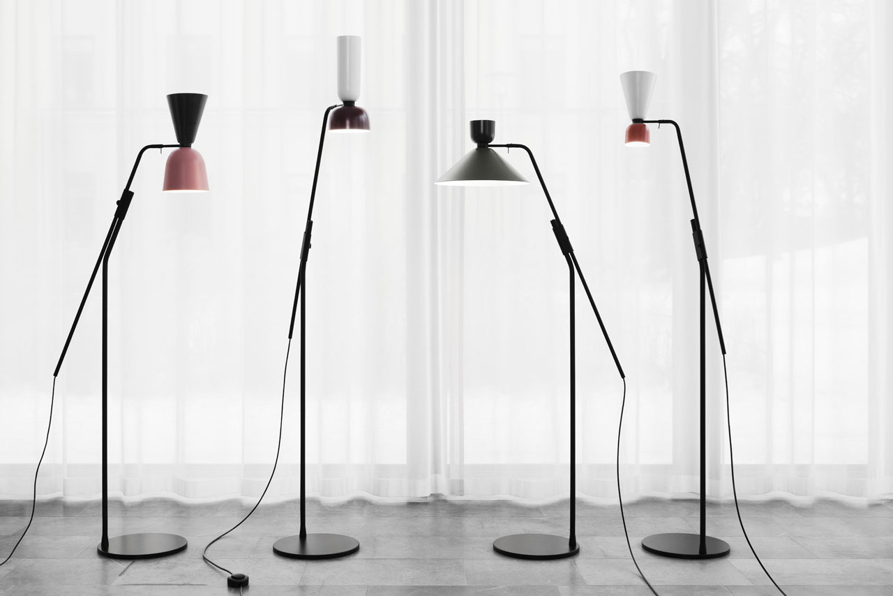 ALPHABETA floor lamps by Luca Nichetto for HEM.