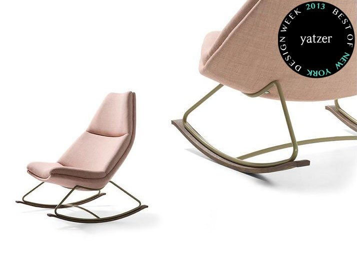 Reintroduction of the Rocking chair by Geoffrey D. Harcourt for Artifort. Original designed in 1967.