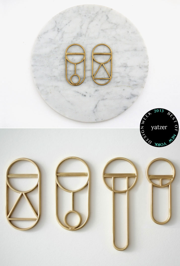Crest Bottle Openers by Gregory Buntain and Ian Collings of Fort Standart.