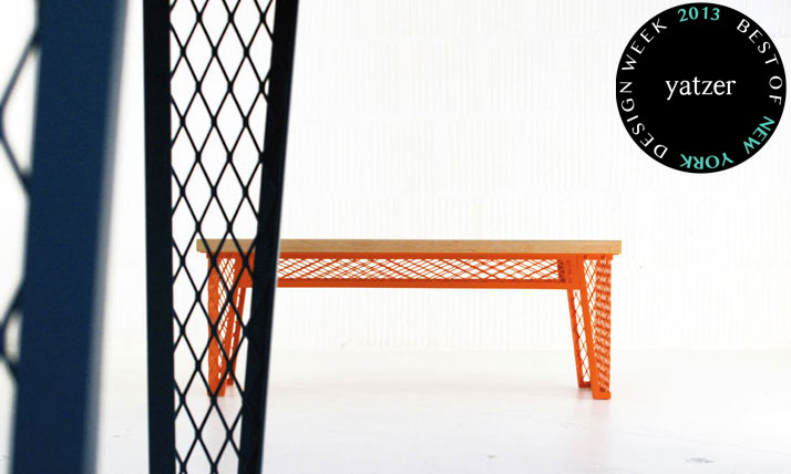 MESH furniture series by Horgan Becket.