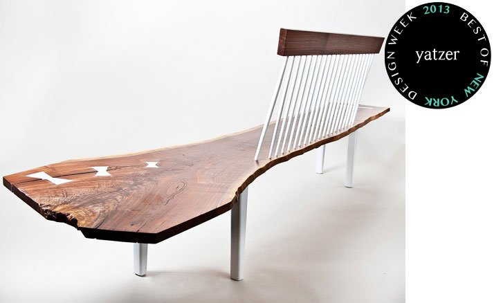 The WW bench by Janosi Designs.