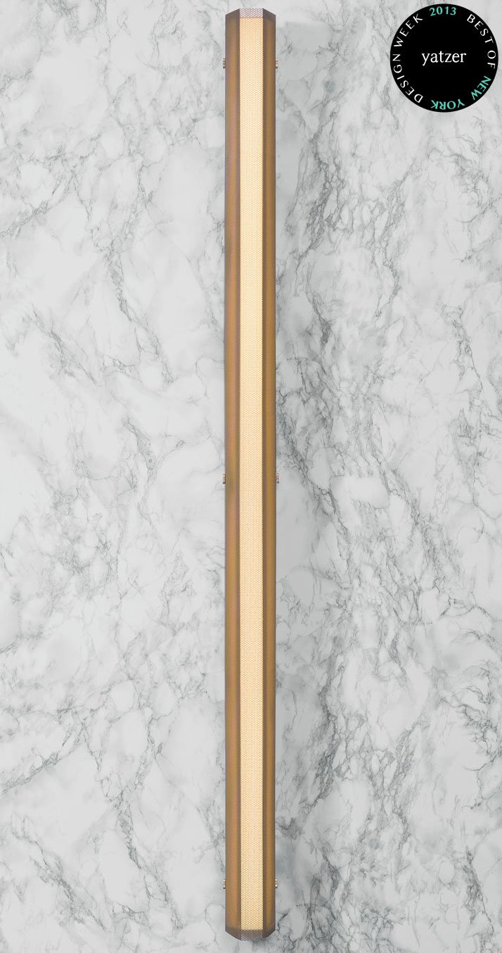 Branch Sconce Large Gold by Theo Richardson, Charles Brill, and Alexander Williams, aka Rich Brilliant Willing.