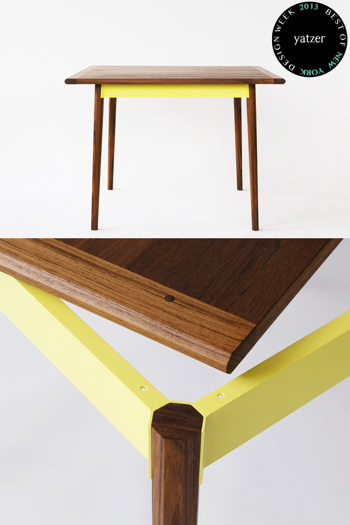 Table by Katrina Vonnegut and Brian Kraft of Vonnegut/Kraft.