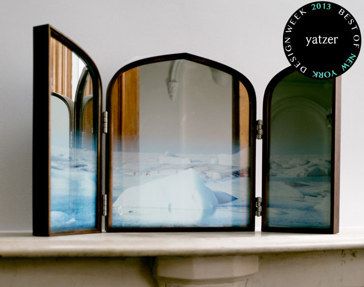 Daydreams mirror (Iceland Triptych) by Jason Miller.