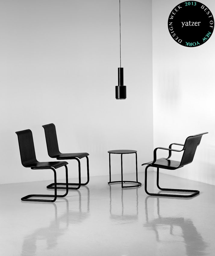Chair 23 and Armchair 26 by Alvar Aalto and Side Table 606 by Aino Aalto 1930-32 for Artek.