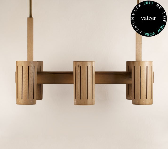 The Woodrum Chandelier by Roman & Williams for the MatterMade collection.