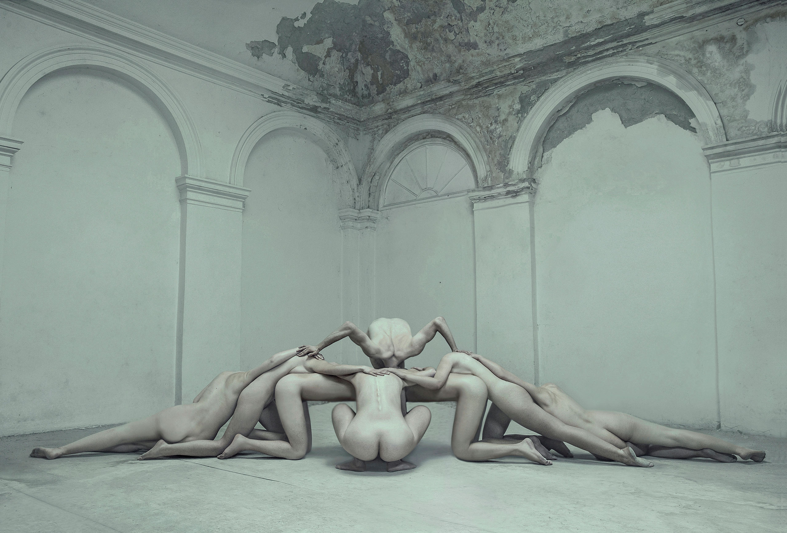 'Ecce Homo' Photographic Series by Evelyn Bencicova, photo © Evelyn Bencicova.