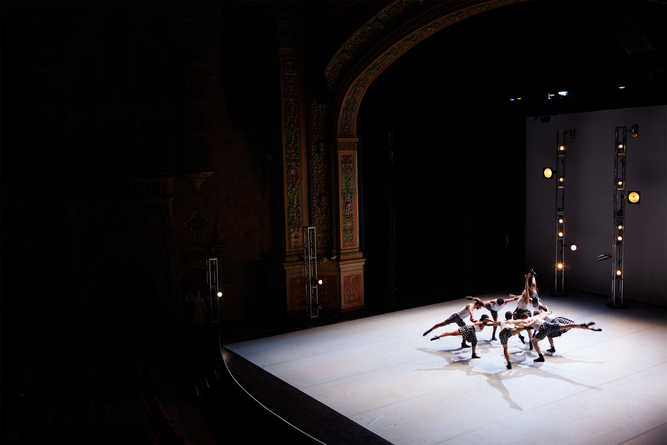 ''Hearts & Arrows'' dance performance, Van Cleef & Arpels, Olympia Theatre, Miami, 2014. Photo by Shayna Batya for Yatzer.