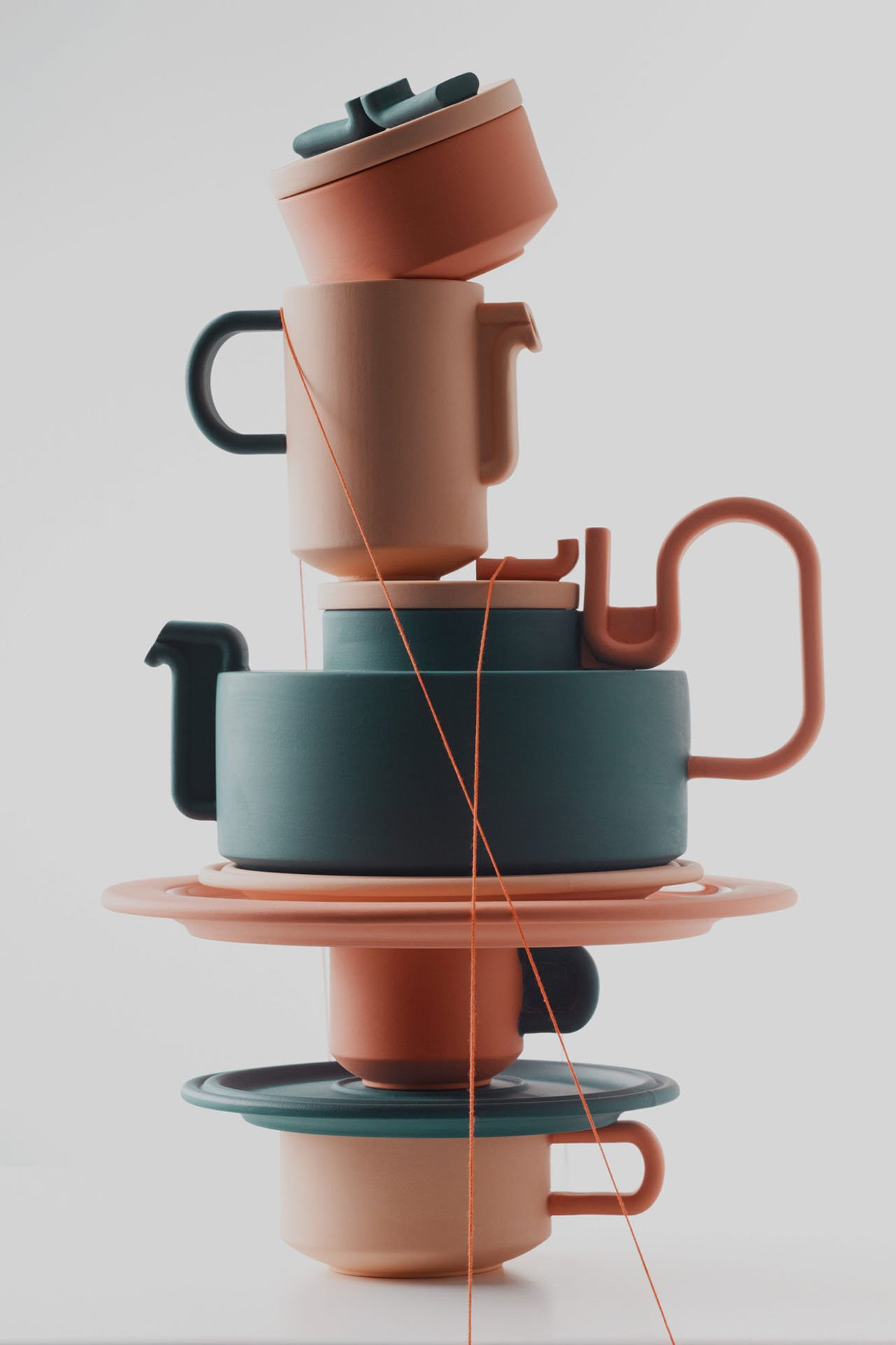 TONGUE tea service series by Bethan Laura Wood for Rosenthal.