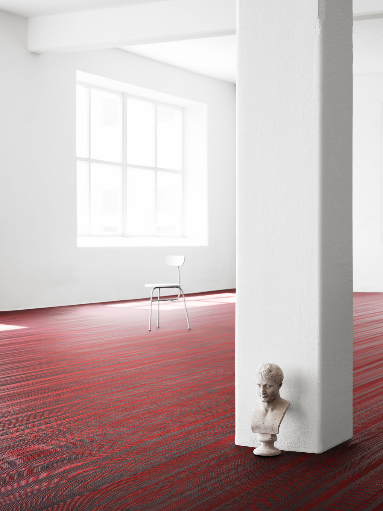 New flooring collection by Jean Nouvel for BOLON.Photo © Marcus Lawett.
