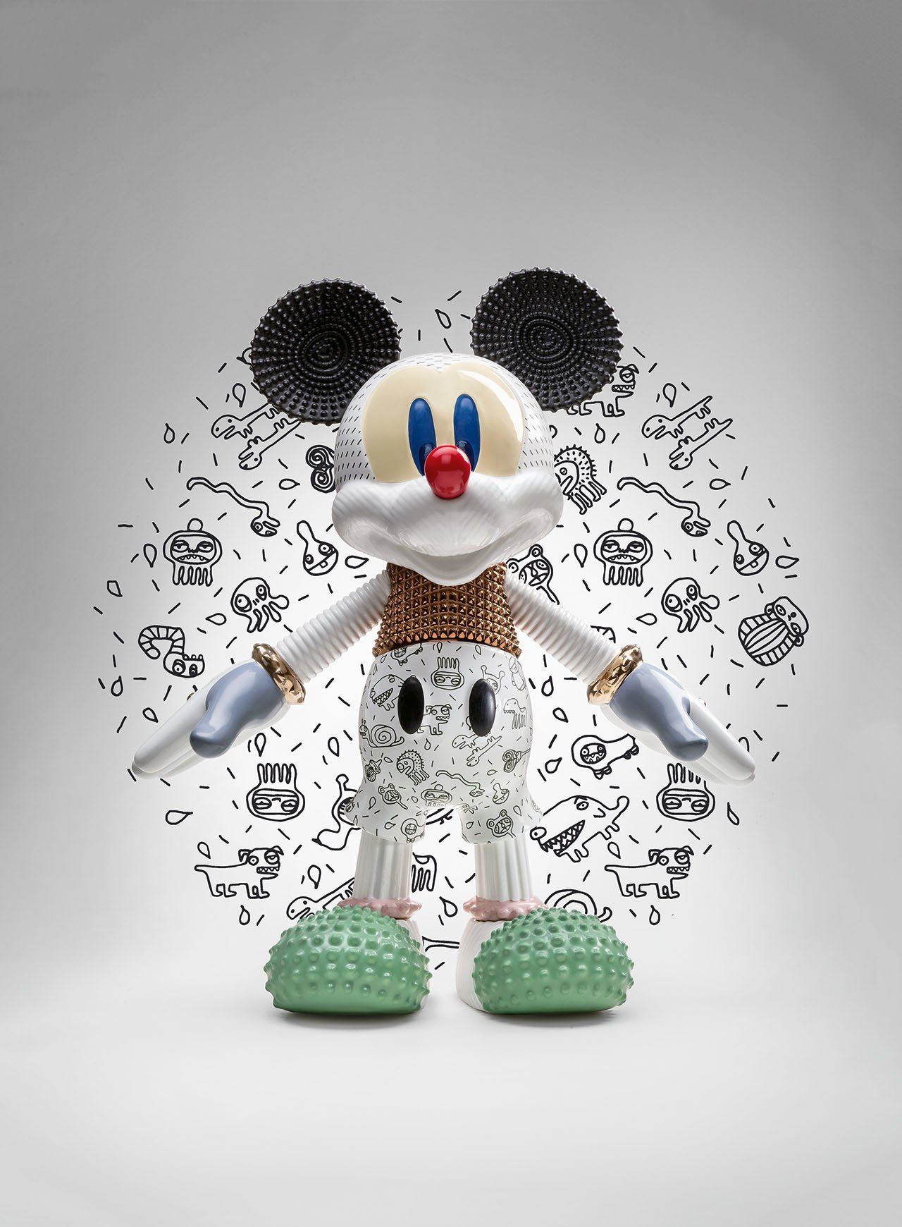 Bosa and Disney celebrate 90 years of MICKEY MOUSE. Designed by Elena Salmistraro. Photo © Bosa.
