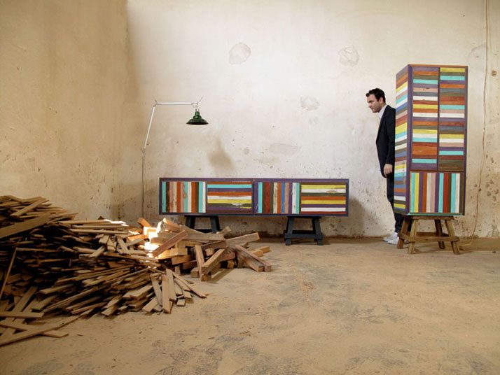 Neorustica furniture collection, photo © Jahara Studio.