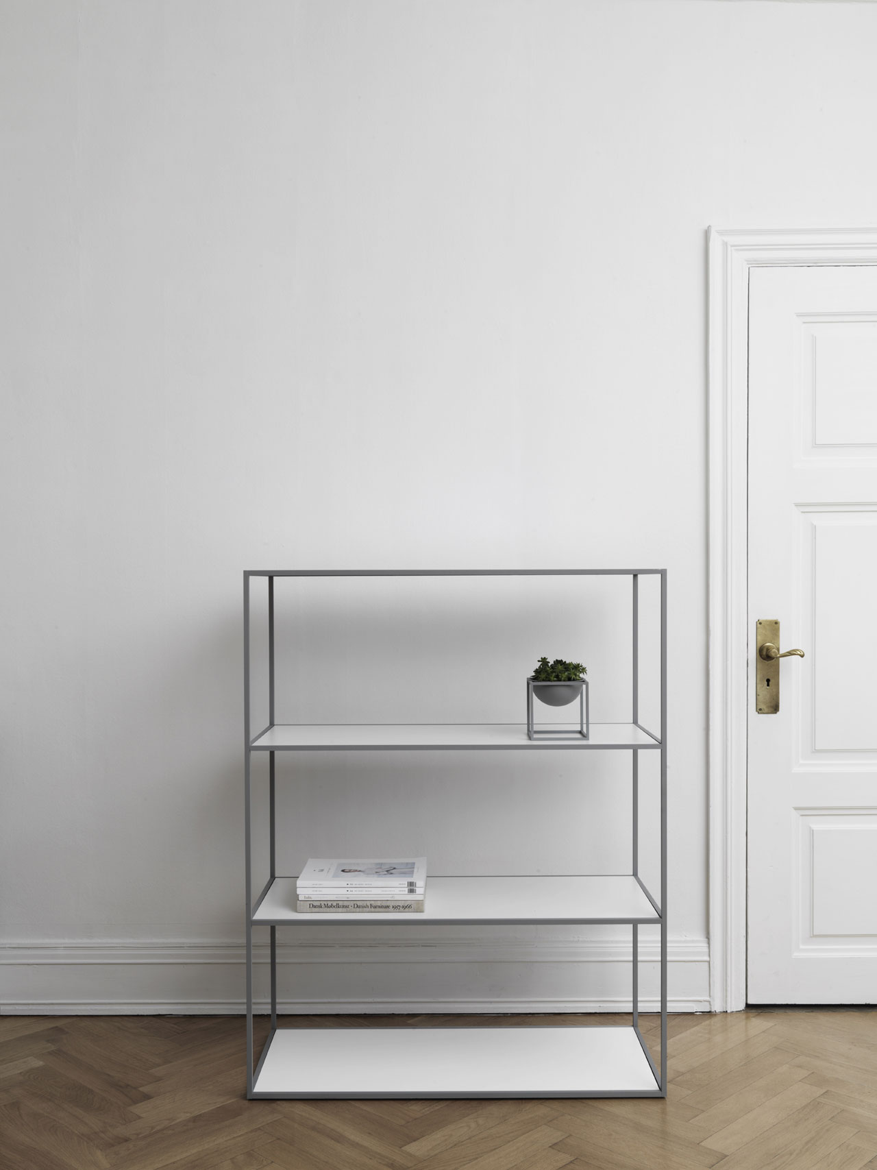 Twin Bookcase by by Lassen.