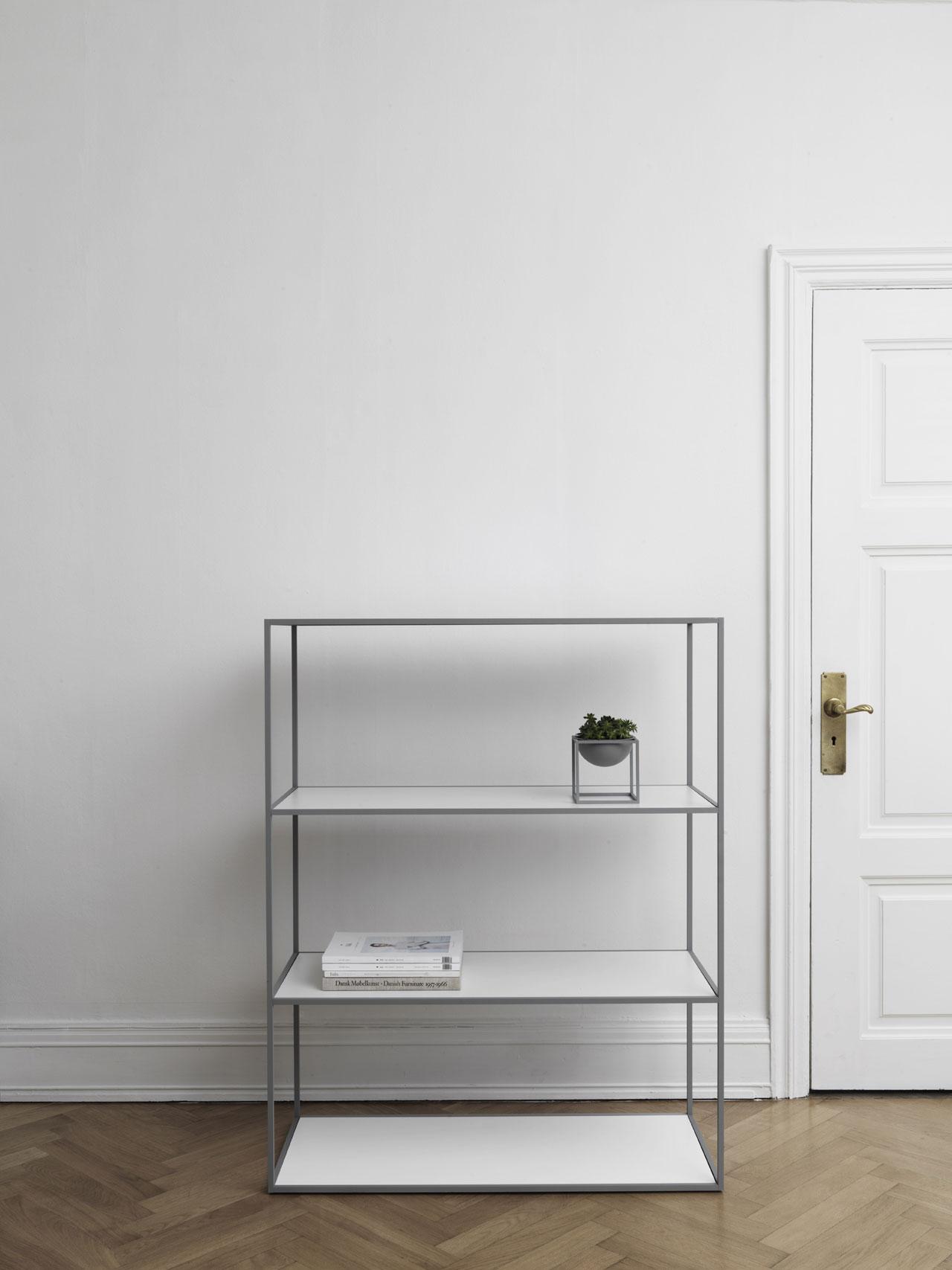 Twin Bookcase by by Lassen.