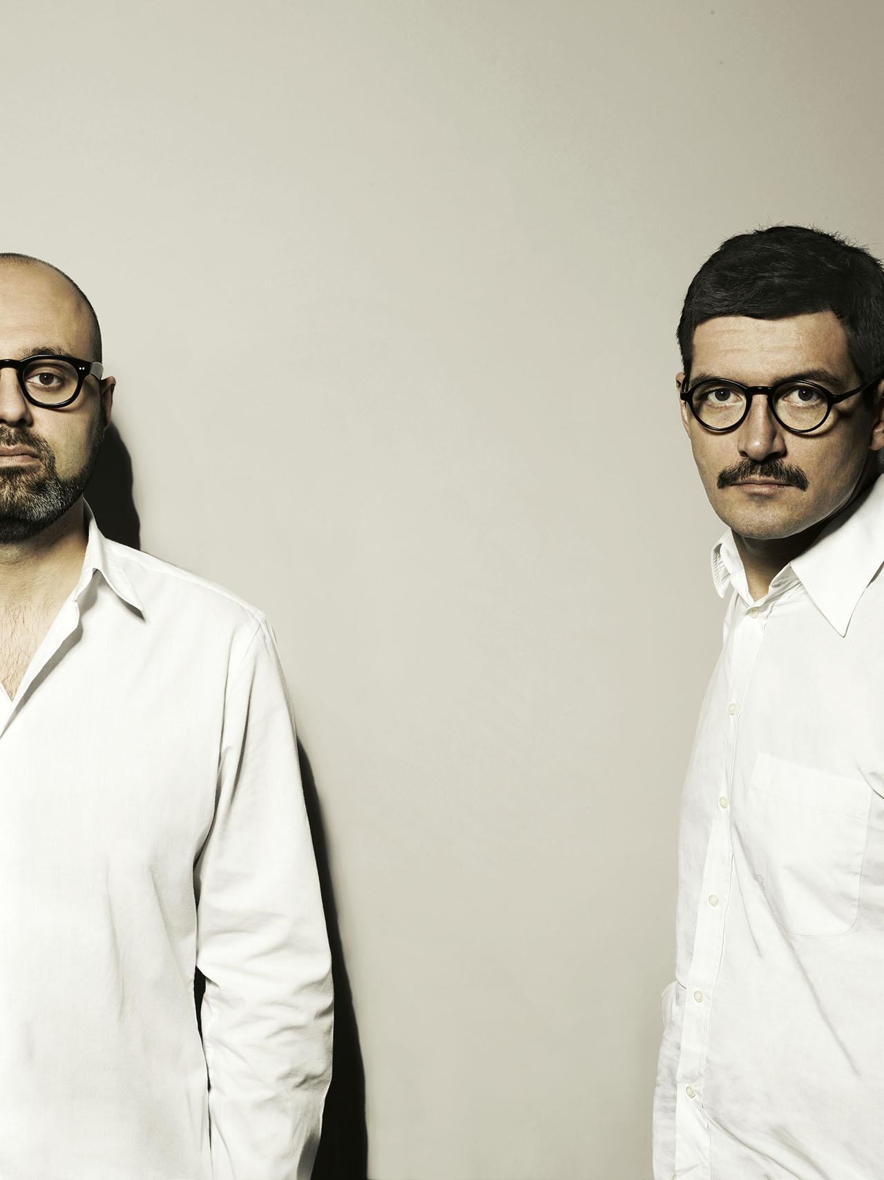 Fabio Calvi (right) and Paolo Brambilla (left). Photo by Tommaso Sartori.