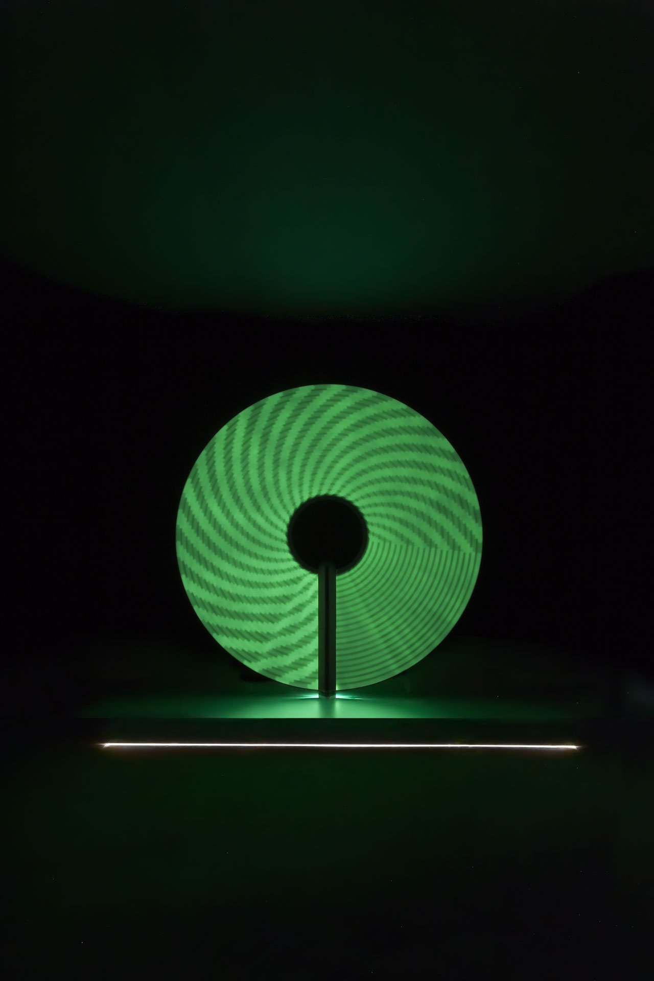 Previously presented at V&A in on the occasion of the London Design Festival, CANDELA was exhibited at the Triennale (video here).  Designed by Felix de Pass, Michael Montgomery and Ian McIntyre for Panerai.Photo © Officine Panerai.