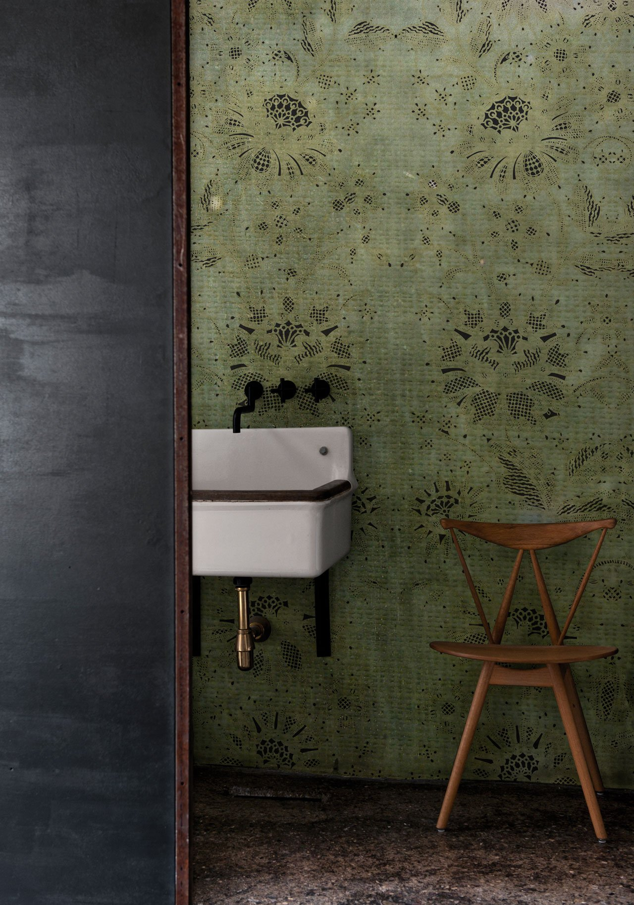 Carillon Wallpaper designed by CASA 1796 for the WET SYSTEM™ Collection © Wall&decò.