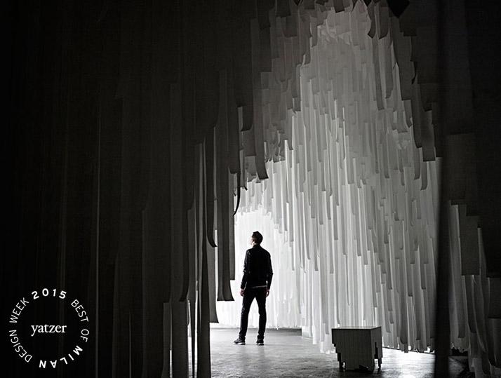 COSxSnarkitectureinstallation, Milan 2015. A film byAndrew Telling.