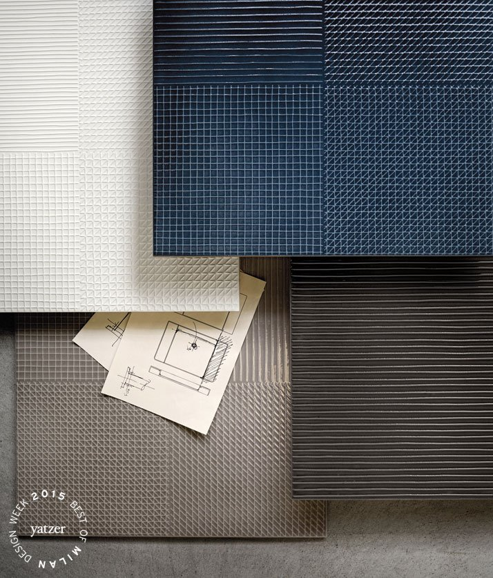 Pætchwork tiles collection by Piero Lissoni for COTTO.