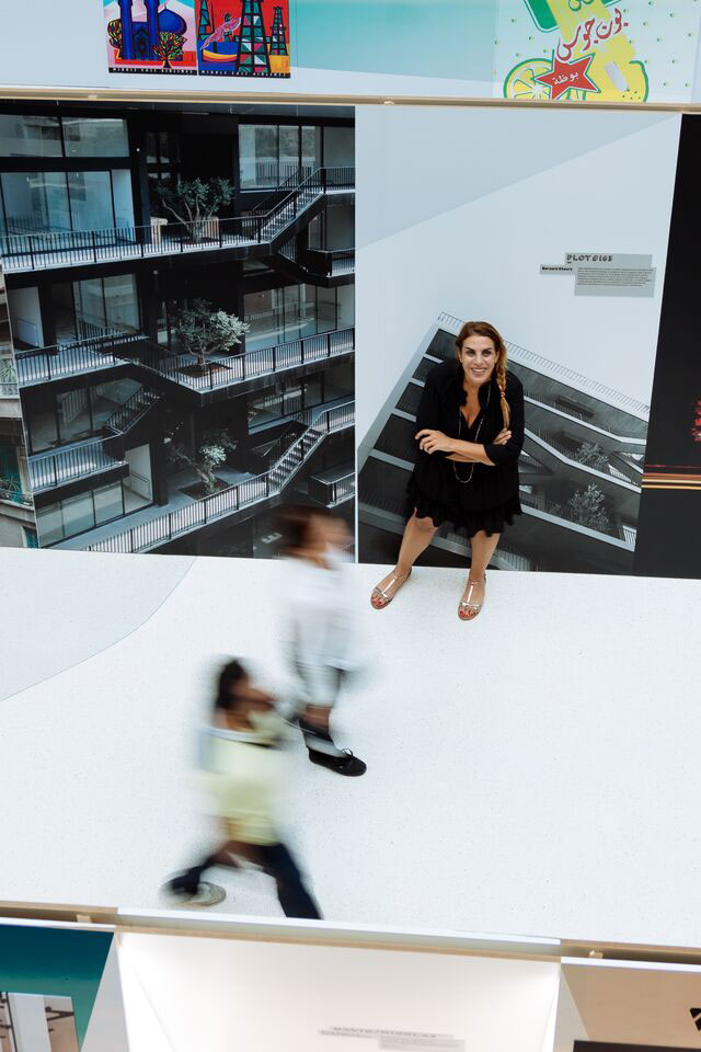 Brilliant Beirut's curator Rana Salam. Photo© Dubai Design Week 2015.