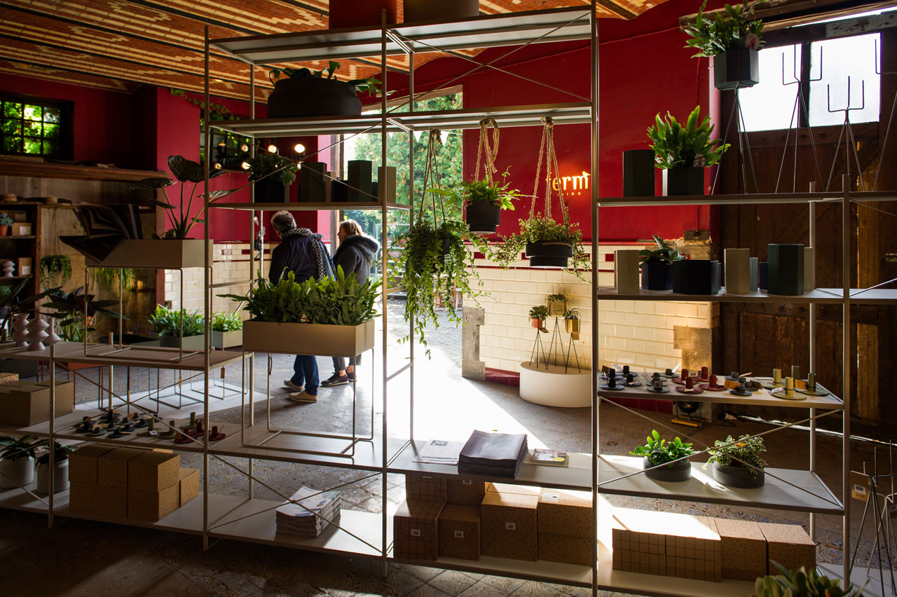 URBAN JUNGLE pop-up shop by Danish label ferm LIVING in collaboration with local furniture shop de Beste Kamer.
