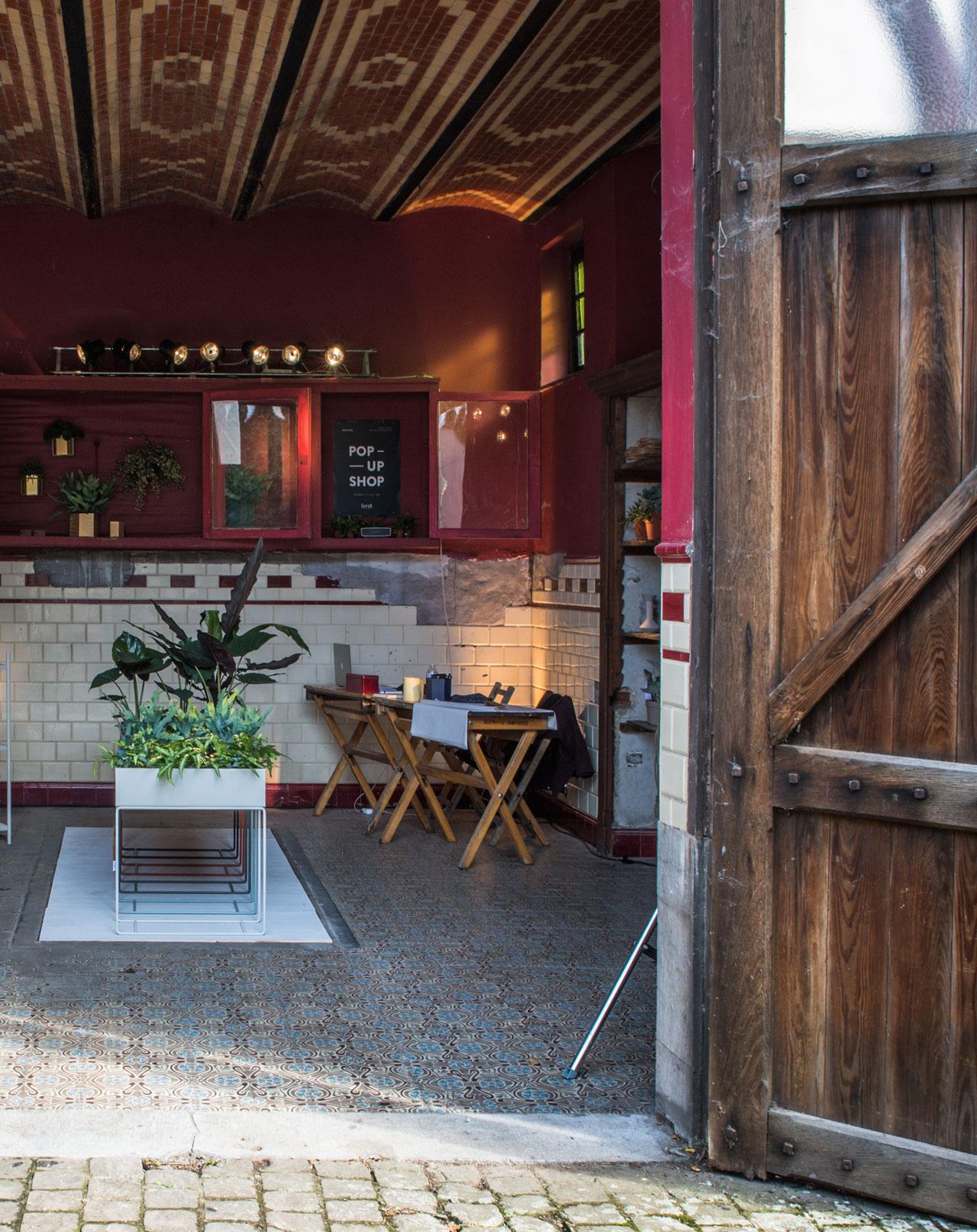 URBAN JUNGLEpop-up shop by Danish label ferm LIVING in collaboration with localfurniture shop de Beste Kamer.