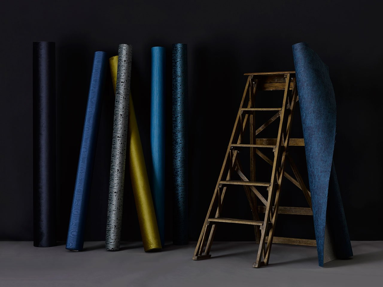 The new Urban Elegance Collection of wall textiles designed byNicolette Brunklaus forDutch Wall Textile Company (DWC).