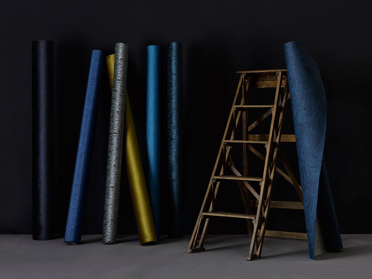 The new Urban Elegance Collection of wall textiles designed by Nicolette Brunklaus for Dutch Wall Textile Company (DWC).