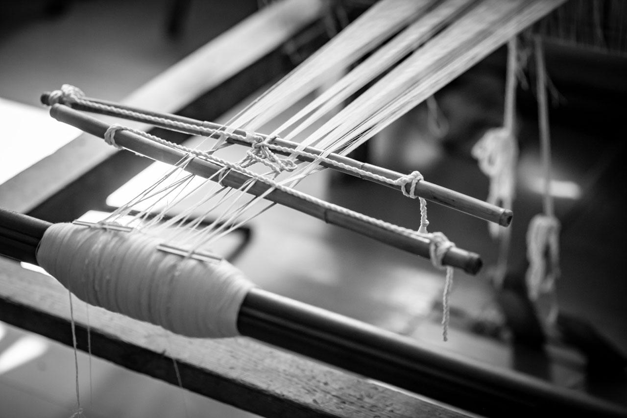 Weaving school of Tinos, Chora.Photo by Elias Joidos © Yatzerland Ltd. Tinos, Greece, 2018.