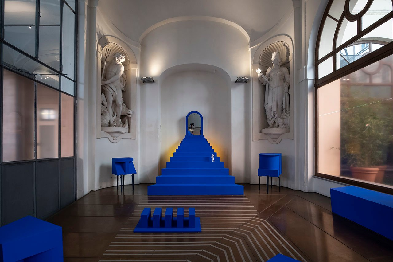 Teatro del giorno by Ecole Camondo at Palazzo Litta. Direction by Mathilde Bretillot in partnership with TIPTOE.