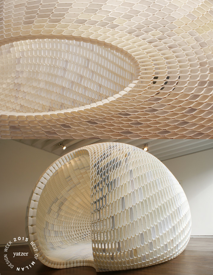 PROJECT EGG by Michiel van der Kley. (spotted on Ventura lambrate).