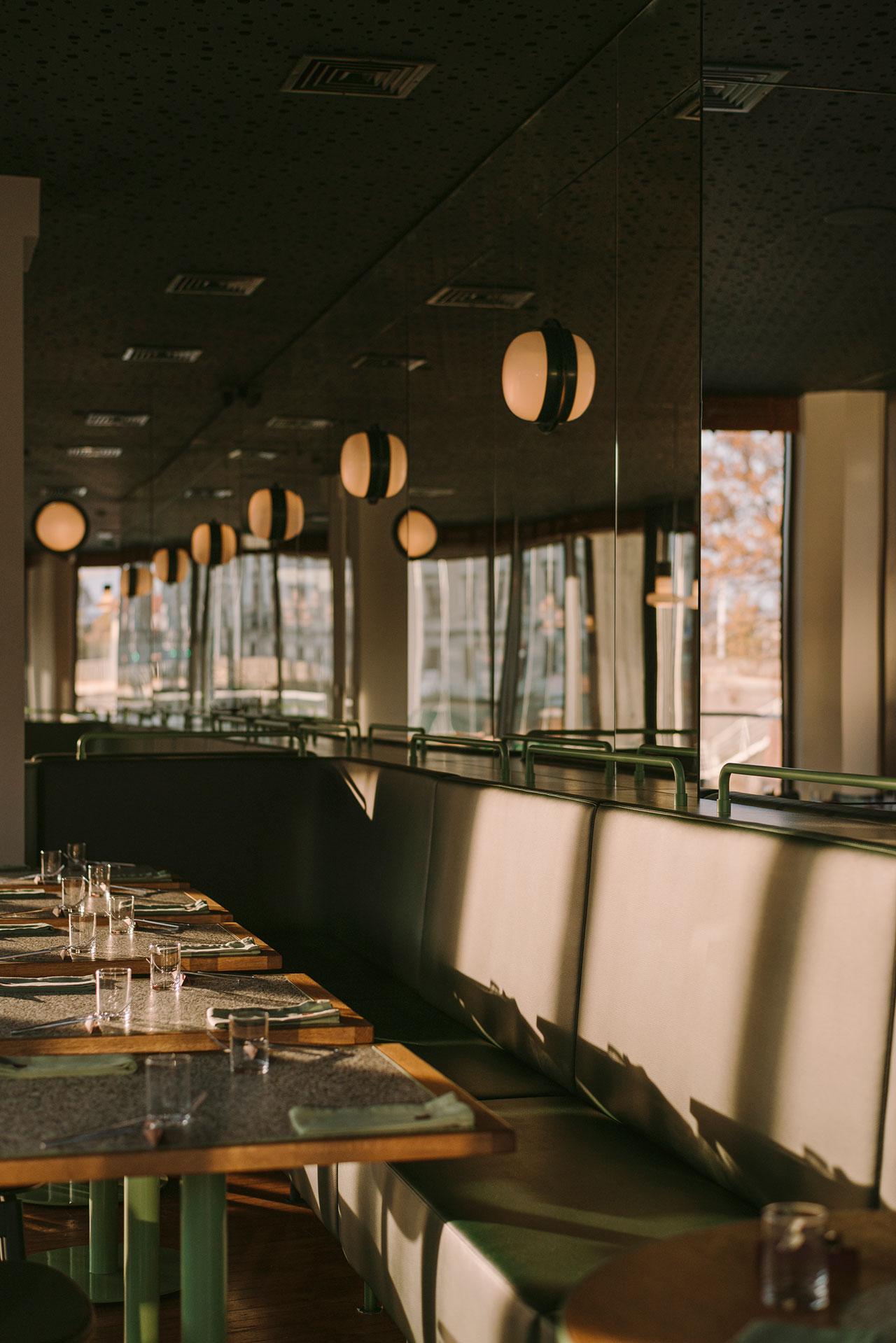 MARTIM restaurant by BUCK.STUDIO. Photo byPION Studio.