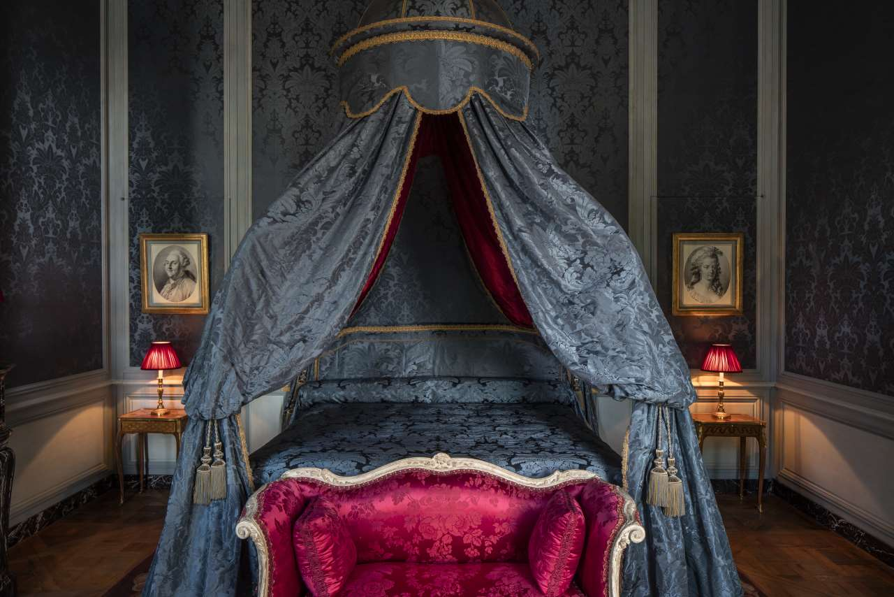 "Photo by Bruno Ehrs for ""Château de Villette. The splendor of French decor"", published by Flammarion."