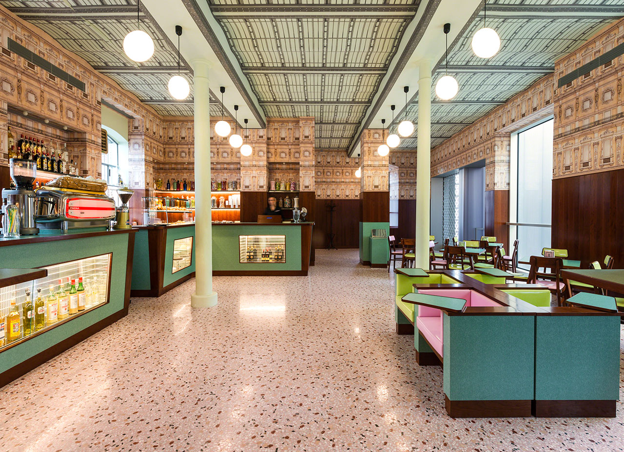 The fondazione prada in milan oma architect federico for Best coffee in milan