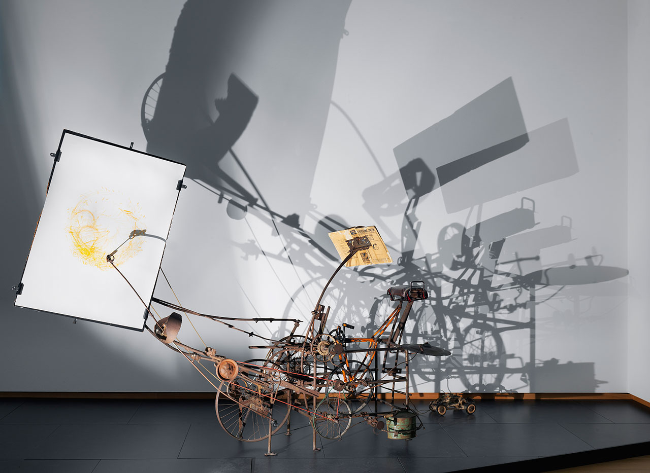 Jean Tinguely, Le Cyclograveur, 1960, coll. Kunsthaus Zurich. Photo by Gert Jan van Rooij.