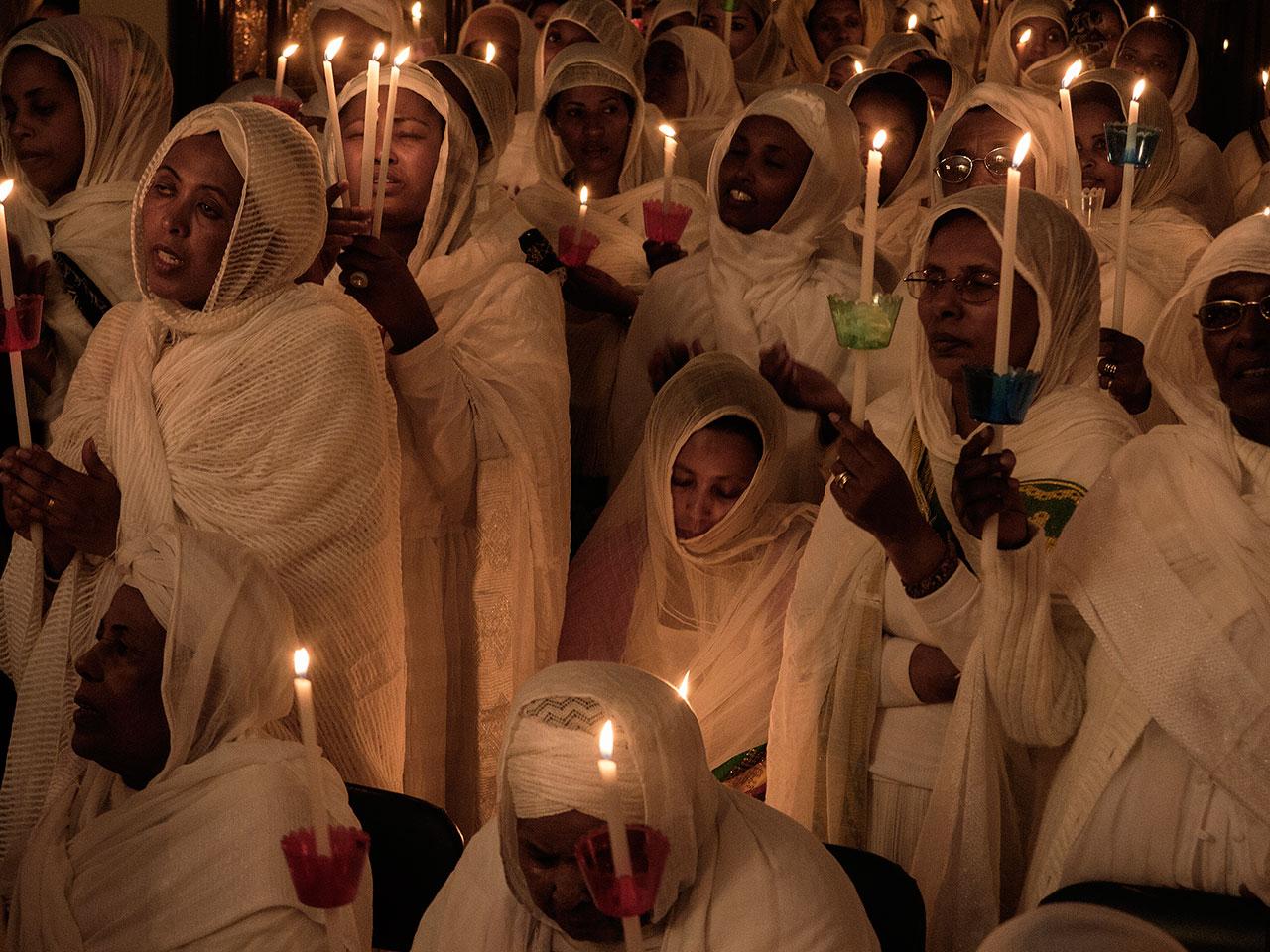 Ethiopian Orthodox Church Kidane Miheret, Polygono© Tassos Vrettos.