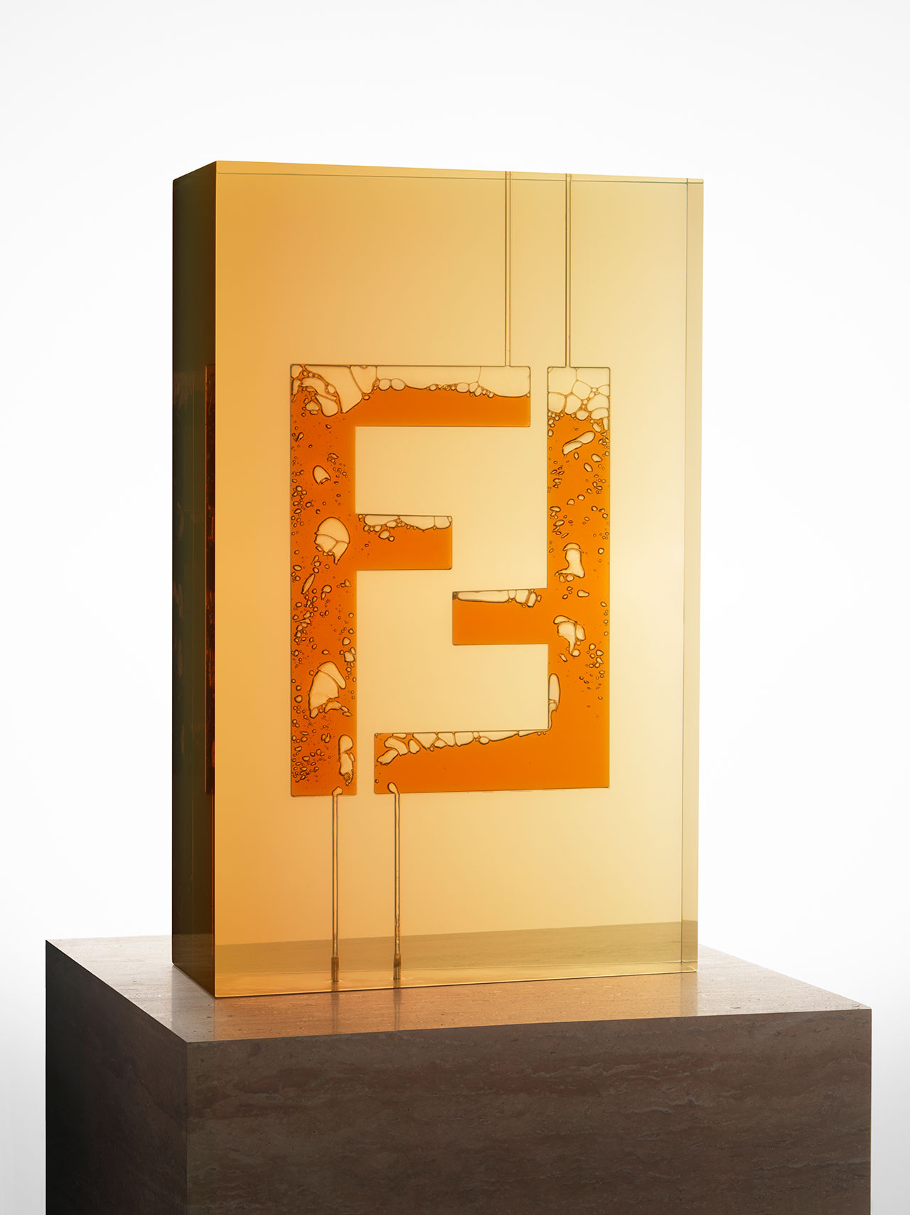 FENDI FF Logo N.2. Photo by Carl Kleiner, courtesy of FENDI.