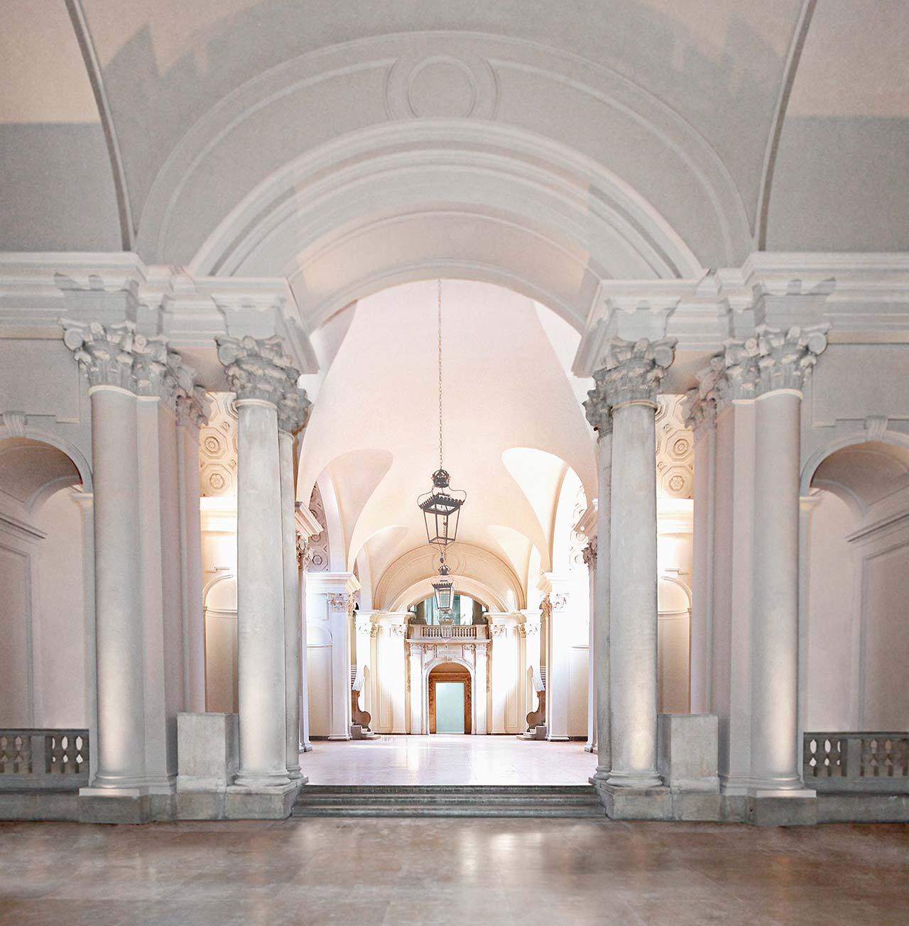 Τhe Great Hall atHessisches Landesmuseum Darmstadt.